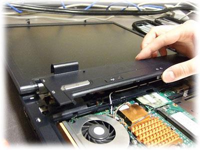 servis LCD panelu HP
